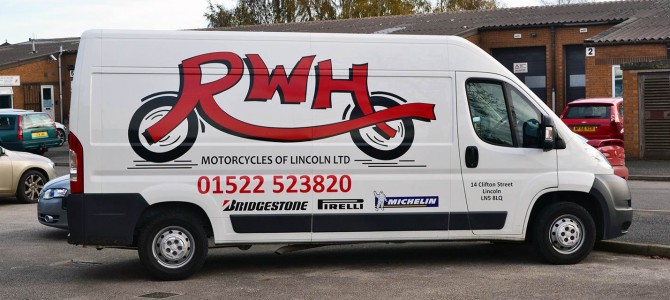 RWH Motorcycles of Lincoln Ltd run a Collection and Delivery Service